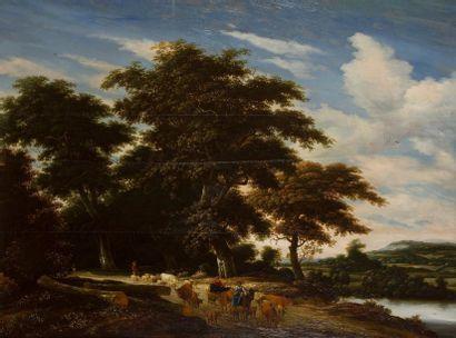 Jacob Salomonsz van RUISDAEL<BR>(Haarlem 1629 - 1681)