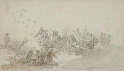 Attribué à Francesco Giuseppe CASANOVA<BR>(1727 - 1802)