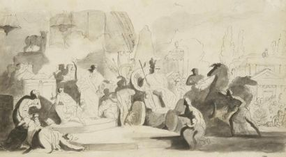 Charles Nicolas COCHIN<BR>(Paris 1715 - 1790)
