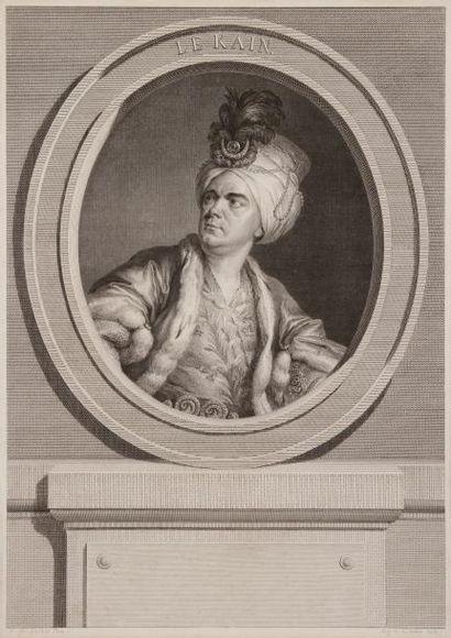 Augustin de SAINT-AUBIN<BR>1736 - 1807)