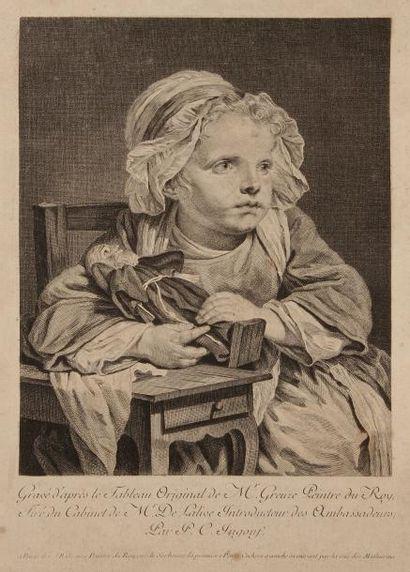 Jean-Baptiste GREUZE (1725 - 1805) (d'après)