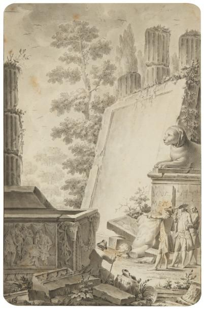Jean-Michel MOREAU LE JEUNE<BR>(Paris 1741 - Provins 1814)