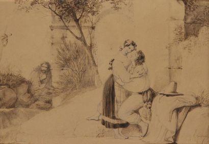 Amable-Paul COUTAN<BR>(Paris 1792 - 1837)