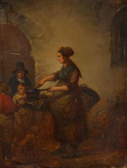 Attribué à Antoinette Cécile Hortense HAUDEBOURT-LESCOT<BR>(1784 - 1845)