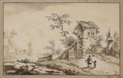 Franz Edmund WEIROTTER<BR>(Innsbruck 1730 - Vienne 1771)