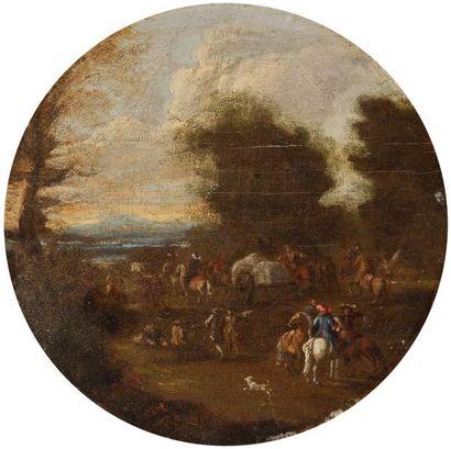 Ecole Hollandaise vers 1700