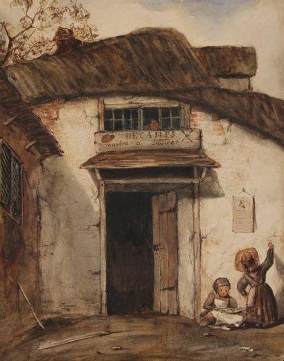 École FRANÇAISE du XIXe siècle,<BR>dans le goût d'Alexandre Gabriel DECAMPS