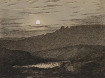 L. GENTIL (Actif à la fin du XIXe siècle) Vues de Camps de Châlons en 1891, du Rhône...