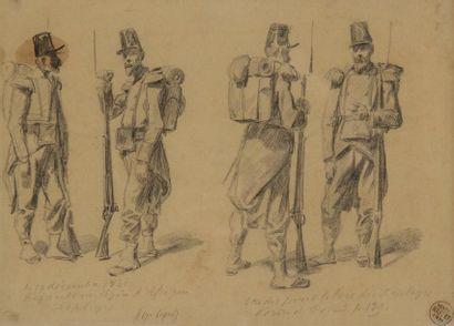 Auguste RAFFET<BR>(Paris 1804 - Gênes 1860)