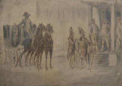 Constantin GUYS<BR>(Flessingue 1803 - Paris 1892)