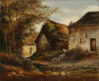 Eugène BOURGEOIS<BR>(Paris 1855 - Saint Cast 1909)