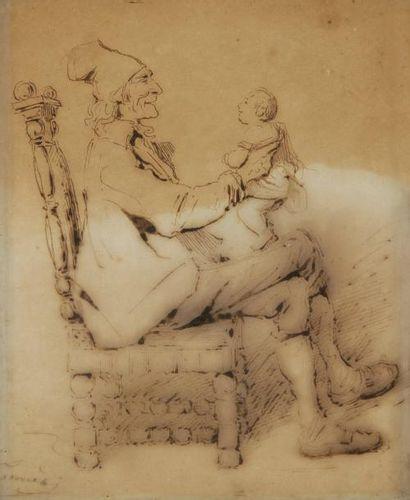 Charles Joseph TRAVIES de VILLIERS<BR>(Winterthur 1804 - Paris 1859)
