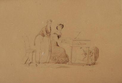Jean Auguste DUBOULOZ<BR>(Paris 1800 - 1870)