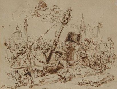 Jean Ignace Isidore GRANVILLE<BR>(Nancy 1803 - Vanves 1847)