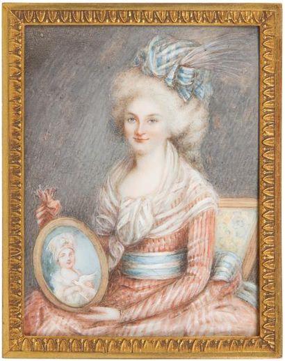 Portrait de femme assise, dite Baronne Boulenger,...