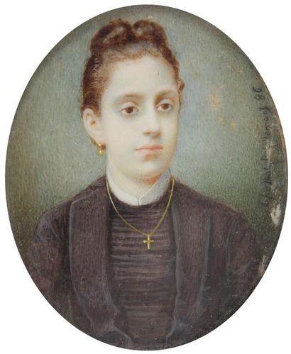 Gabrielle GHAFFIOT-DEBILLEMONT<BR>(Dijon, 1860 - Paris, 1957)