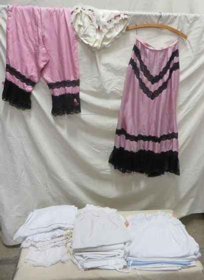 Une vingtaine panties/culottes pour femme,...