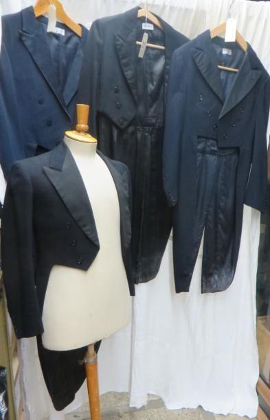 Une quinzaine de vestes