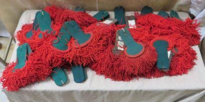 Une trentaine de paires d'épaulettes de la...