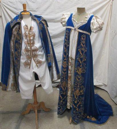 Ensemble habit complet et robe de style...
