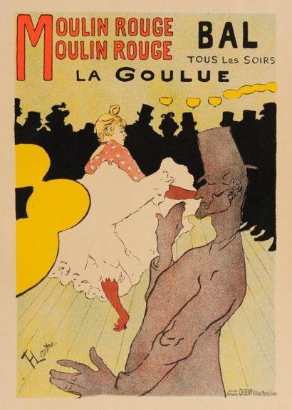 LES MAÎTRES DE L'AFFICHE La Goulue - Le Moulin...