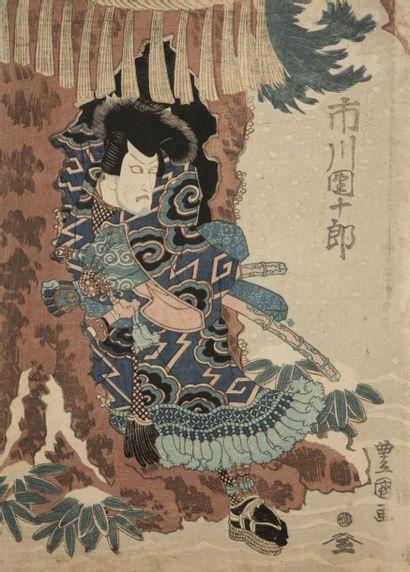 Lot d'estampes par Ando Hiroshige (série...