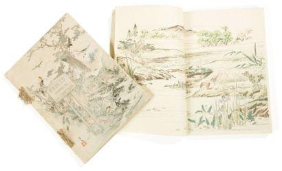 Fables choisies de la Fontaine, illustrées par un groupe des meilleurs artistes...