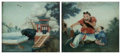 CHINE, Canton - Fin XIXe siècle