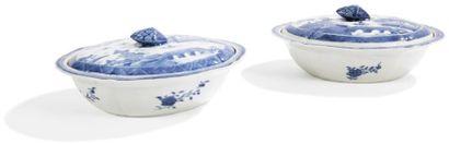 CHINE - FIN EPOQUE QIANLONG (1736 - 1795)