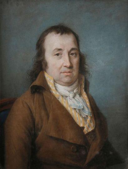 Marie-Gabrielle CAPET (1761-1818) Portrait de Philippe Jacques Knoderer ( 1743-1816),...