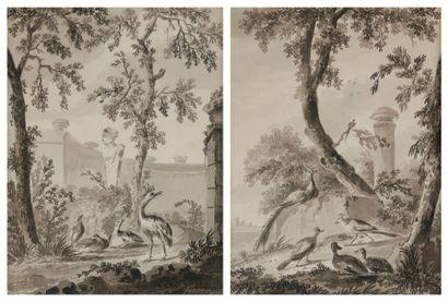 Attribué à Diderick Herman CUYPERS<BR>(1707-1779)