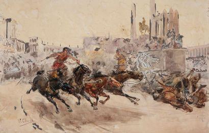 Ulpiano CHECA Y SANZ [espagnol]<BR>(1860-1916)