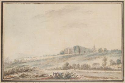 Attribué à Louis-Gabriel MOREAU (1740-1806)
