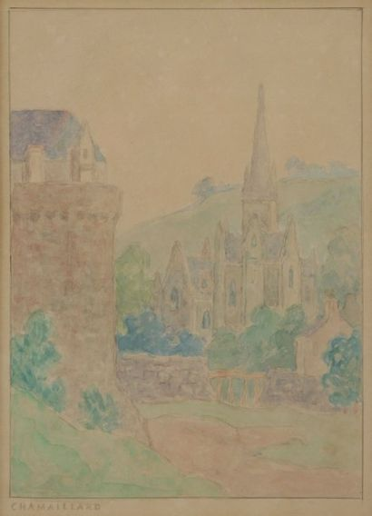 Ernest Ponthier de CHAMAILLARD<BR>(1862-1930)