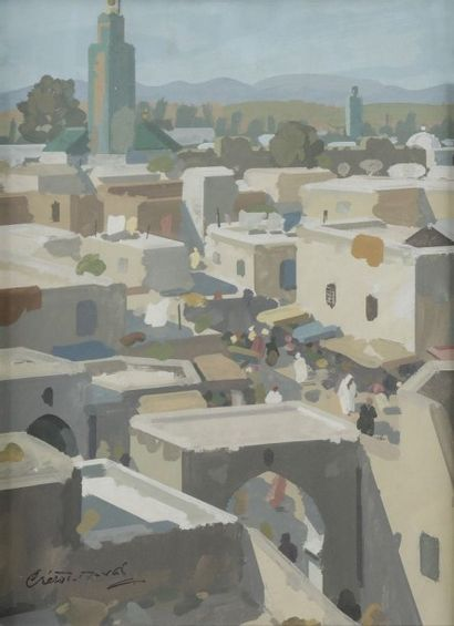 Raymond CRETOT - DUVAL (1895 - 1986)