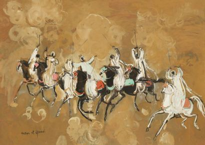 Hassan EL GLAOUI [marocain] (né en 1924)