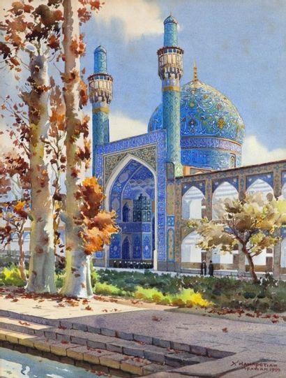 Yervand NAHAPETIAN (iranien, 1916 - 2006)