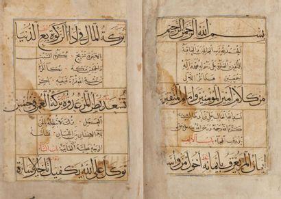 Manuscrit poétique «Nasr - i al - La'alï/poésie...