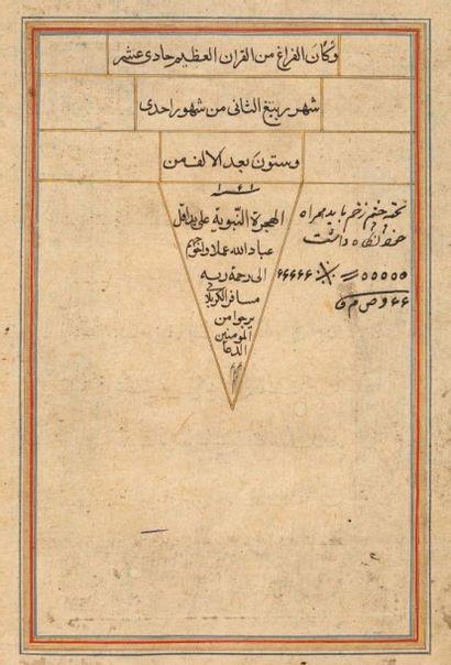 Grand Coran safavide, signé, Iran, daté 1061H./1650...