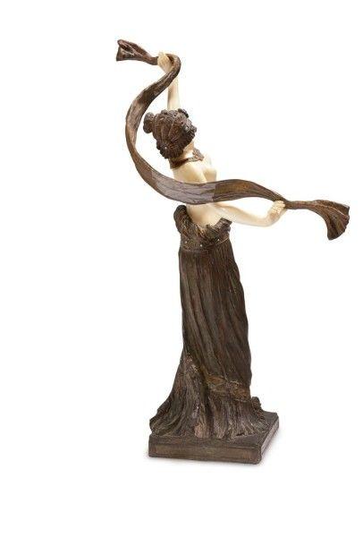 Agathon LÉONARD (1841-1923) (Agathon Léonard von der WEYDEVELD, dit) Salomé, le modèle...