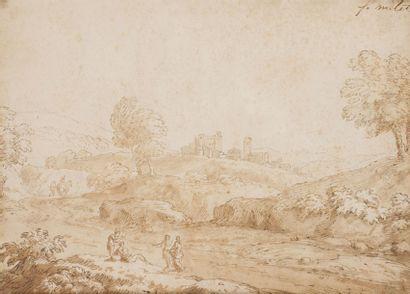 Attribué à Francisque Jean-François MILLET (Anvers 1642 - Paris 1679)