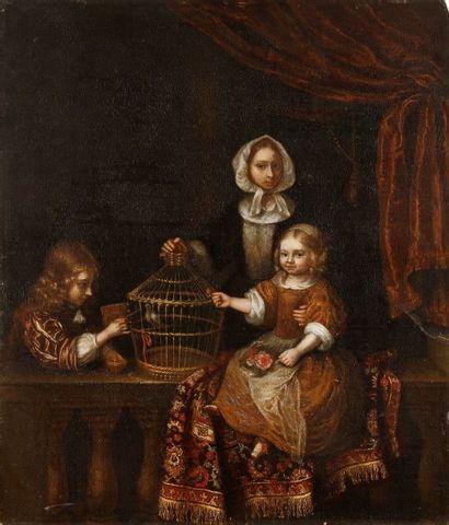 Attribué à Constantin NETSCHER<BR/>(1668 - 1723)