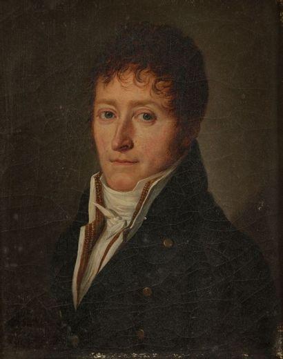Henri Nicolas van GORP (Paris 1756 - 1819) Portrait du Comte de Pra (Delle 1767 -...