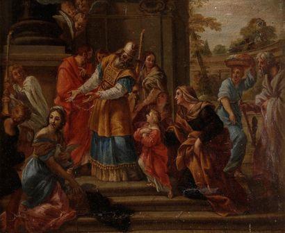 ECOLE ITALIENNE DU DÉBUT DU XVIIIe SIÈCLE
