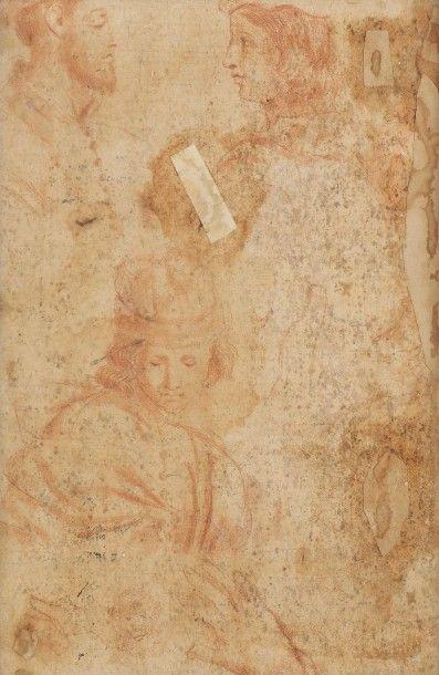 ECOLE ITALIENNE DU DÉBUT DU XVIIIe SIÈCLE La Présentation de la Vierge Huile sur...