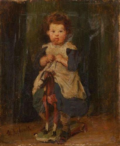 Marcelin Gilbert DESBOUTIN<BR/>(Cérilly 1823 - Nice 1902)