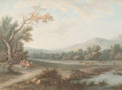 Attribué à Louis Nicolas Van BLARENBERGHE (Lille 1716 - Fontainebleau 1794)