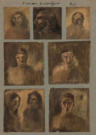 Bahman BOROJENI [iranien] (né en 1942)