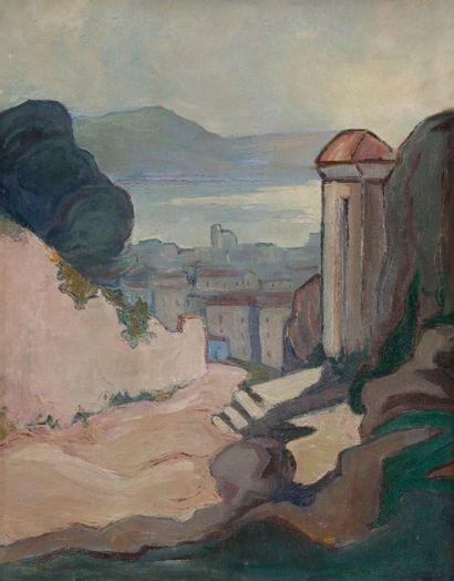 Attribué à Suzanne CORNILLAC (1904-1962)