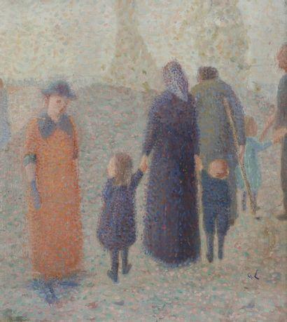 Ecole française pointilliste